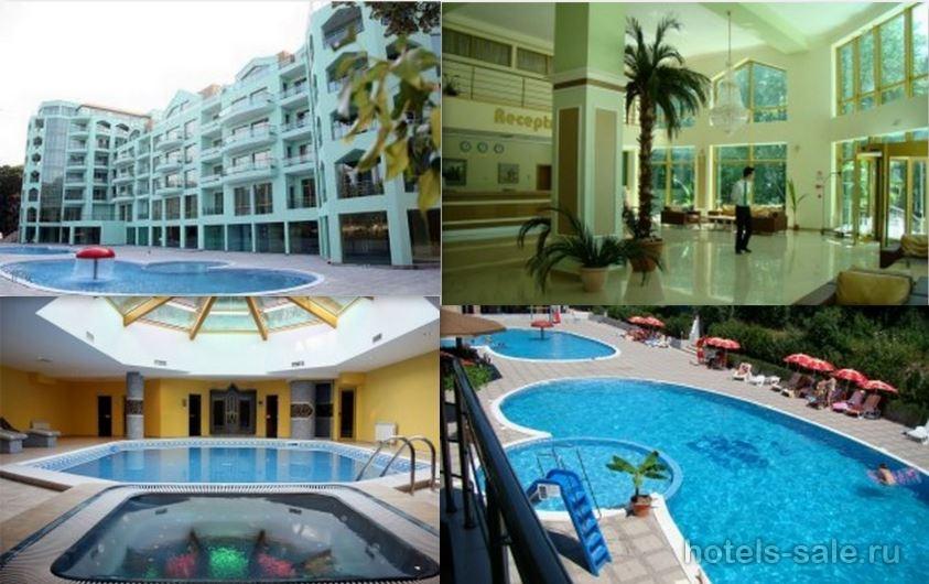 4-х звездочная гостиница  в центре самого популярного курорта Болгарии.