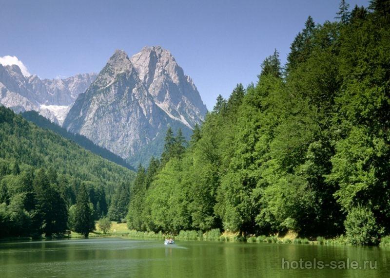 4х звёздочная гостиница в Германии, в олимпийском регионе баварских Альп