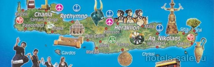 Большой участок под строительство виллы с видом на море на острове Крит, Греция
