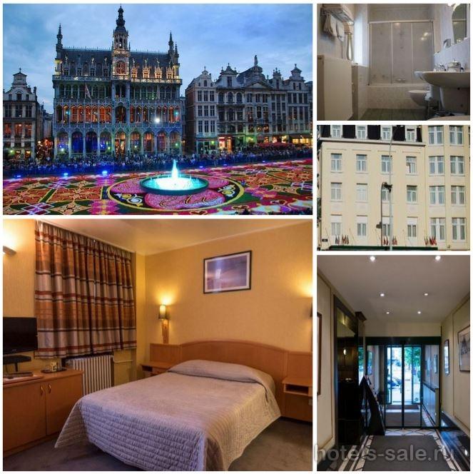 Гостиница в центре Брюсселя, в 10 минутах от площади Гран-Плас,