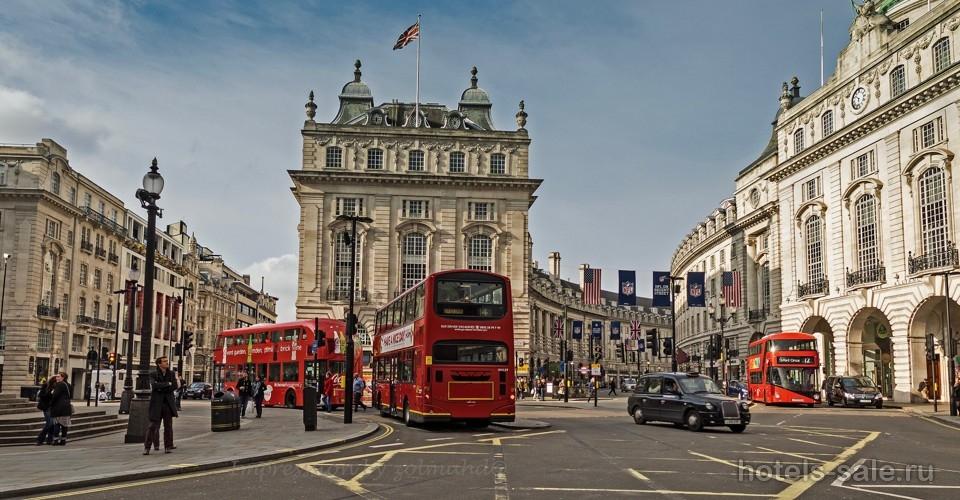 Гостиница в центре Лондона