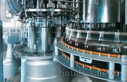 Продажа группы заводов по производству безалкогольных и алкогольных напитков