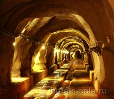 Золотые рудники в Мексике.