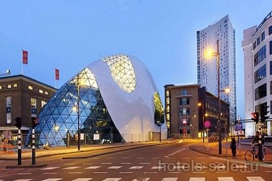 Гостиница у Эйндховена, Голландия, проект