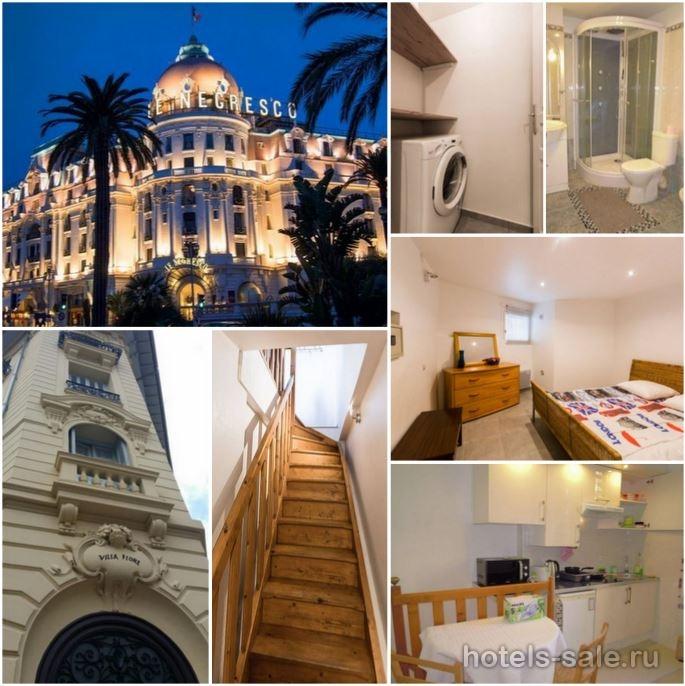 Квартира в Ницце, Лазурный берег, рядом со знаменитой гостиницей Негреско, в 200 м от моря.