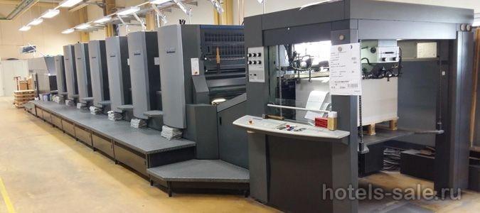 Продажа успешного полиграфического завода в Прибалтике, стране ЕС.