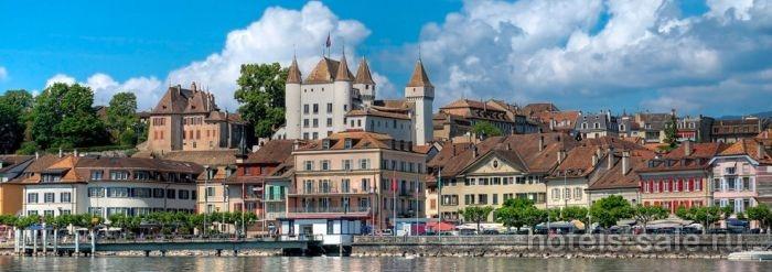 Гостиница в Ньоне, рядом с Женевой, Швейцария.
