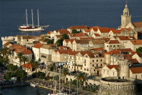 Гостиница в Хорватии, в 100 м от пляжа